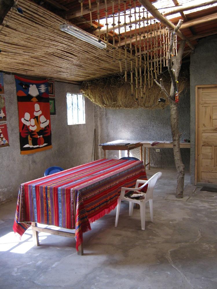 salasaca huasalata 3 wandteppiche in der stube. Black Bedroom Furniture Sets. Home Design Ideas