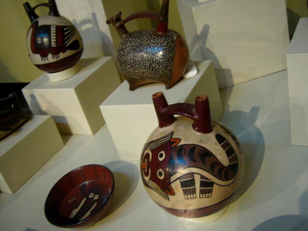 Museo regional de ica 4 cultura nazca 4 cer mica con for Disenos para ceramica