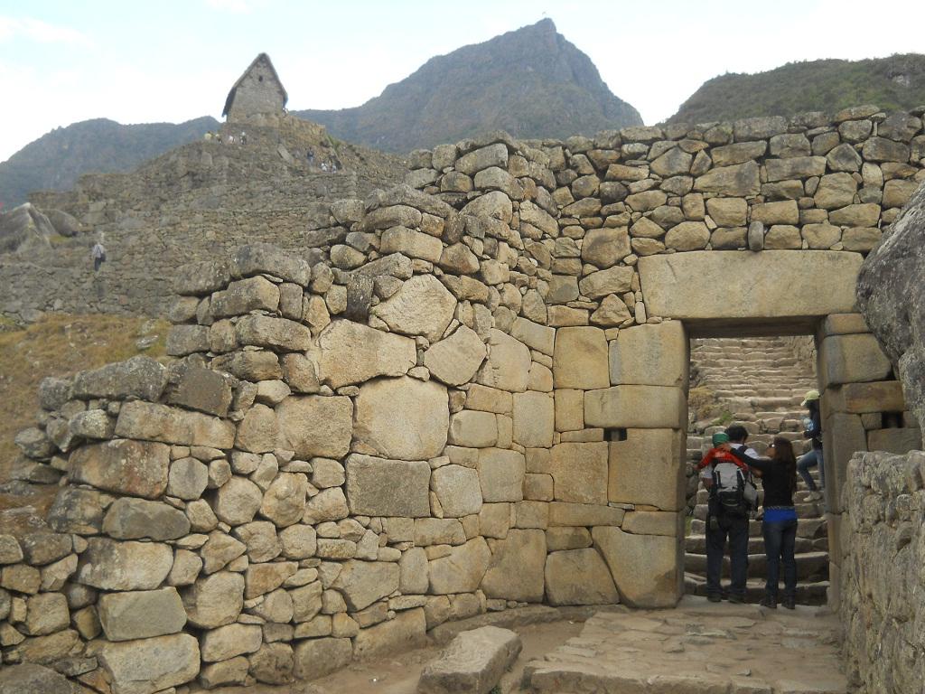 Machu picchu 05 puerta del sol fotogaler a for Puerta del so