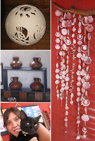Handicraft village in Arica (Chile)